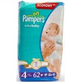 Pampers Active Baby Dry 4 [7-14kgr] 62 pcs