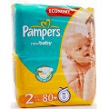 Pampers New Baby 2 [3-6Κgr]  80 pieces